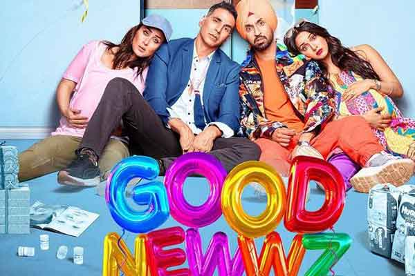 Good Newwz Full Movie download leaked by TamilRockers