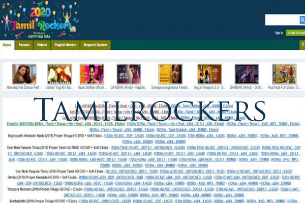 Tamilrockers 2021 - Free Download New Latest HD movies and Web series