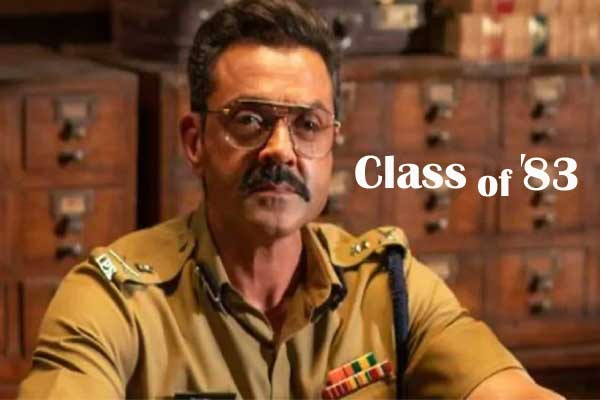 class of 83 web series full hd available on tamilrockers.
