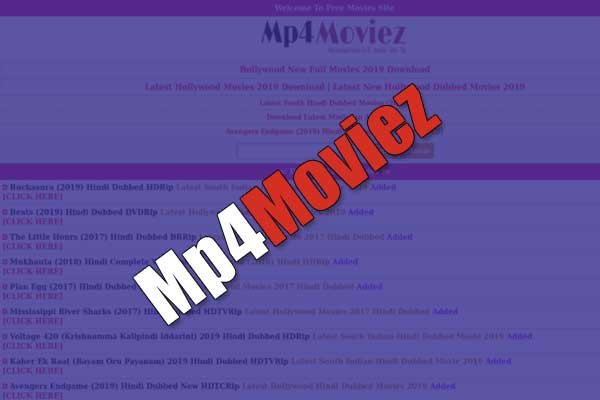 Mp4moviez 2020 illegal download movies website