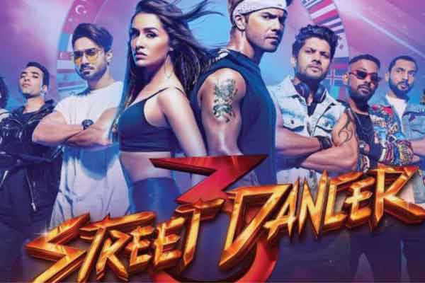 Street Dancer 3D Full Movie Download and leaked online on Tamilrockers