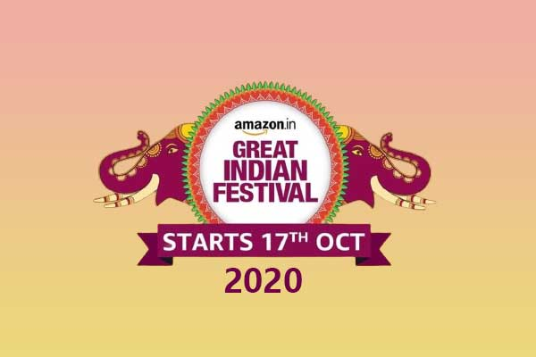 Amazon Great Indian Festival Sale 2020 on Amazon