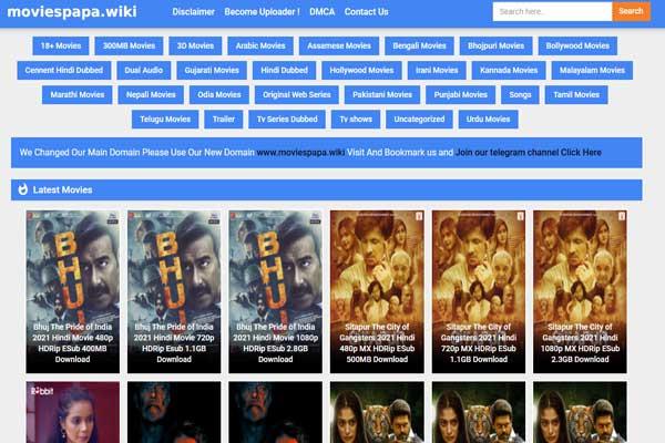 Moviespapa 2021 - Download free HD movies and web series